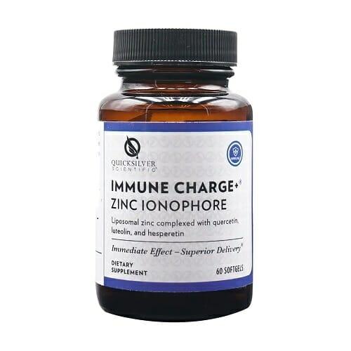 Quicksilver Scientific Immune Charge+ Zinc Ionophore | 60 Softgels