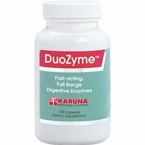 Karuna DuoZyme | Digestive Enzymes, 180 Capsules