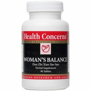 Health Concerns Woman's Balance