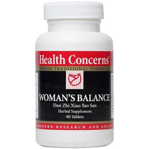 Health Concerns Woman's Balance