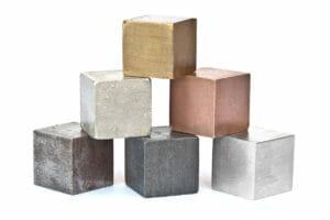 heavy metals, zinc, iron, copper
