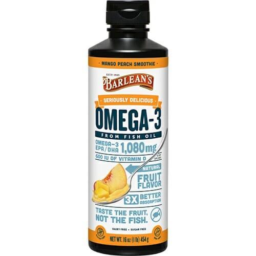 Barlean's Organic Oils Omega Swirl Mango Peach