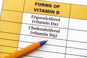 d2 v. d3, vitamin d2, vitamin d3