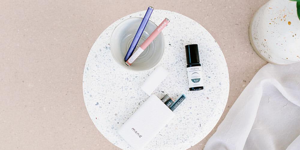 monq, monq portable aromatherapy