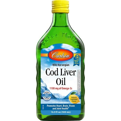 Carlson Labs Cod Liver Oil Lemon