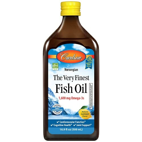 Carlson Labs Finest Fish Oil Omega 3
