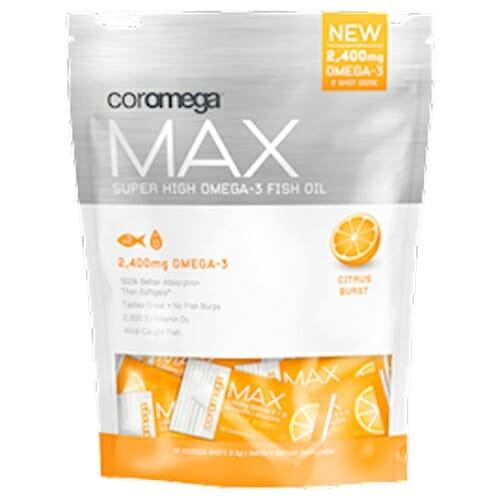 Coromega Max Super High Omega-3 Citrus