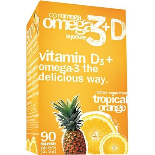 Coromega Tropical Orange + D