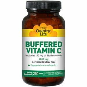 Country Life Buffered Vitamin C 1000 mg