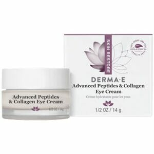 DermaE Natural Bodycare Advanced Peptides & Collagen Eye Cream