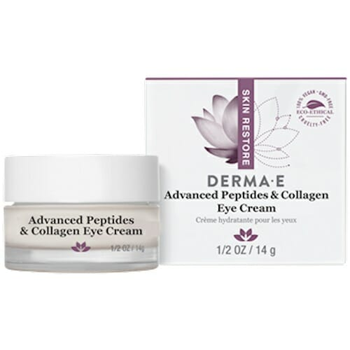 DermaE Natural Bodycare Advanced Peptides & Collagen Eye Cream