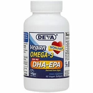 Deva Nutrition LLC Vegan Omega-3 DHA-EPA 300mg