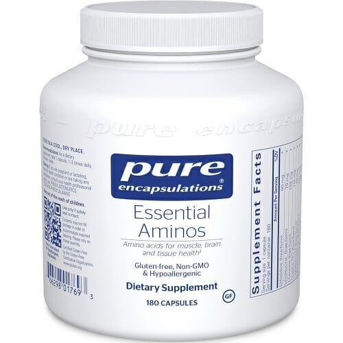 Pure Encapsulations Essential Aminos | Hypoallergenic, 180 Vegcaps