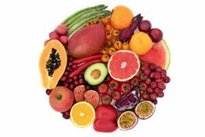 red and orange fruits as a source of carotenoids