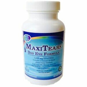 Maxivision | MaxiTears | Dry Eye Formula, 120 softgels, lunovus