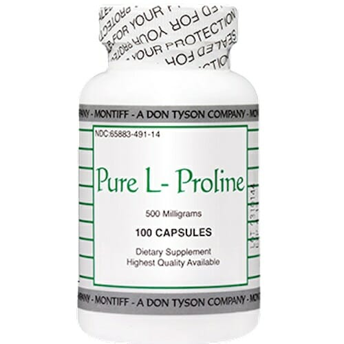 Montiff Pure L-Proline 500 mg