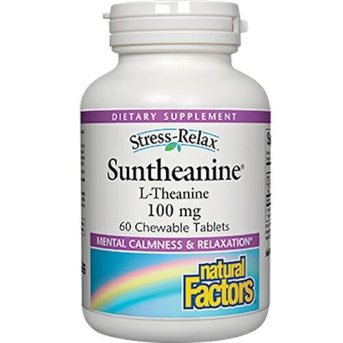 Natural Factors Suntheanine L-Theanine