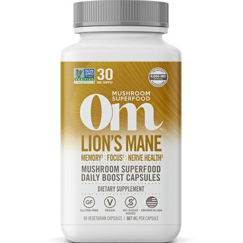 Om Mushrooms Lion's Mane