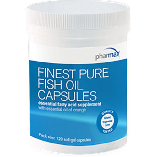 PharMAX Finest Pure Fish Oil   1.4:1 EPA to DHA, 120 Softgels