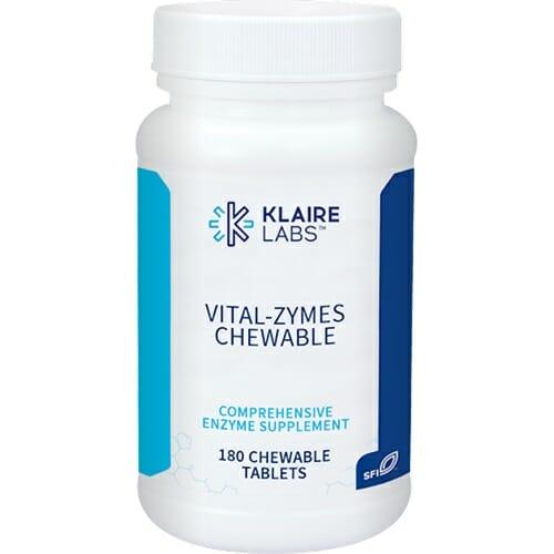 Klaire Labs Vital-Zymes Chewable
