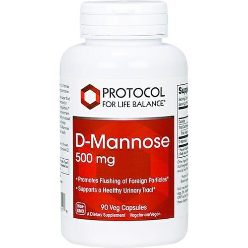 Protocol For Life Balance D-Mannose 500 mg