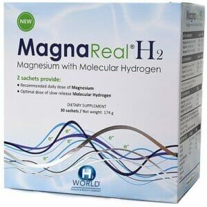 Magna H2 | H2 World | Molecular Hydrogen Supplement, 30 Satchets